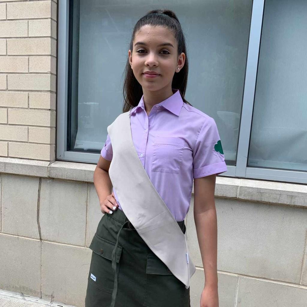 Uniforme de Girl Scouts