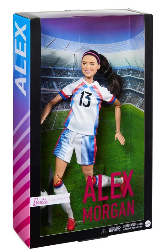 Mattel Releases New Alex Morgan Barbie Doll