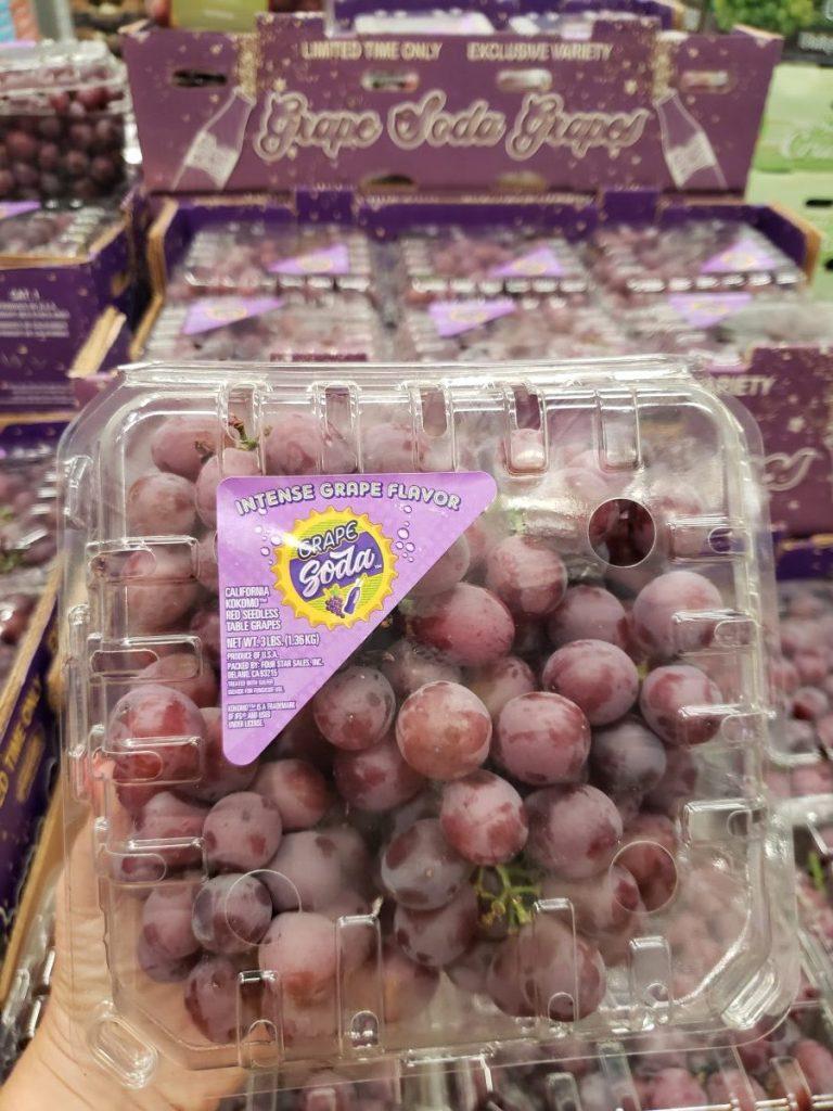 Grape Soda Grapes