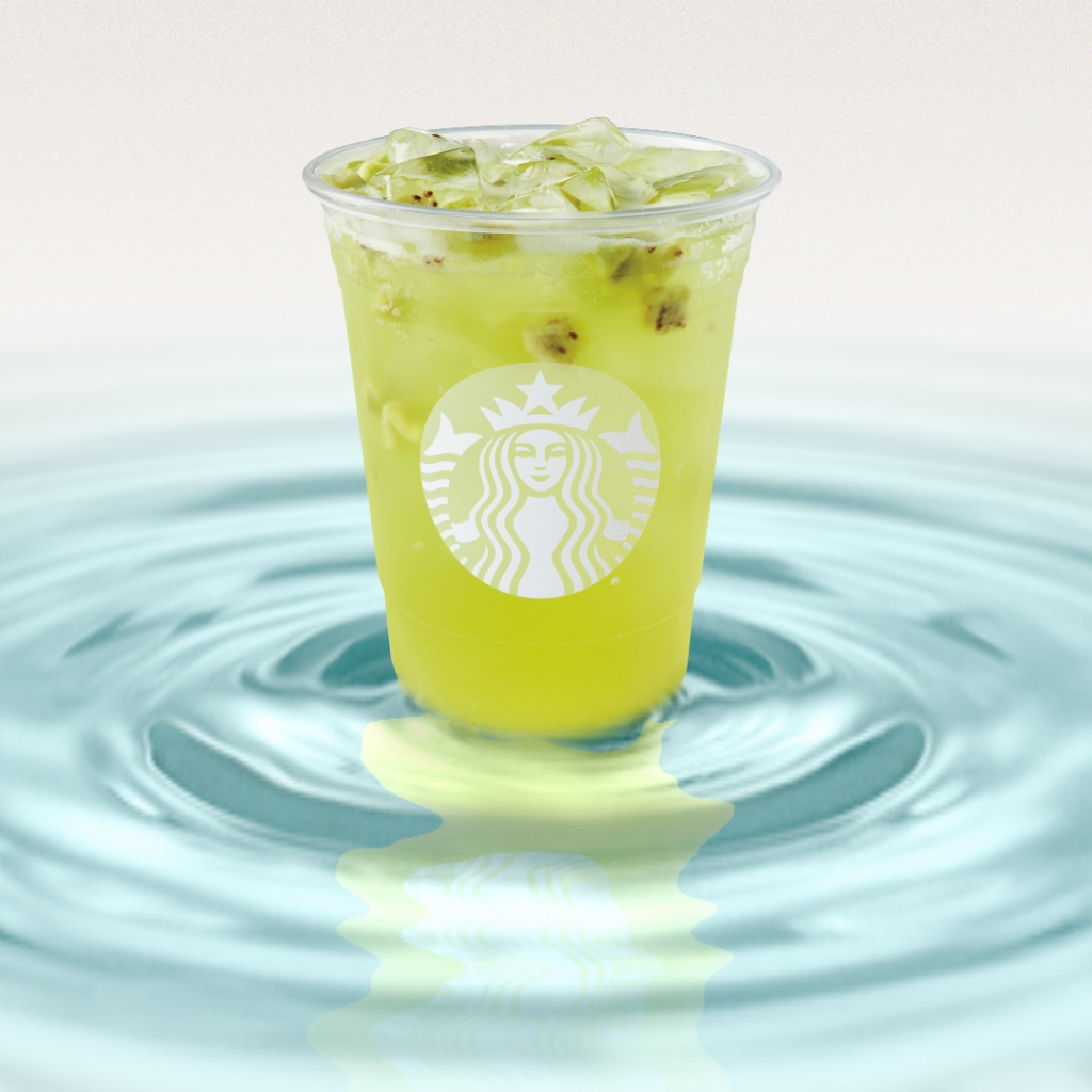 Kiwi Starfruit Starbucks Refreshers Beverage