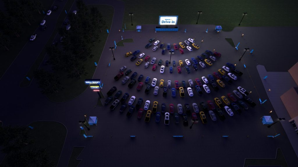 Walmart Drive-In