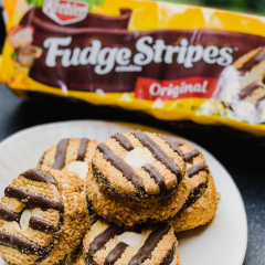 Keebler Fudge Stripe Cookies S'mores Recipes