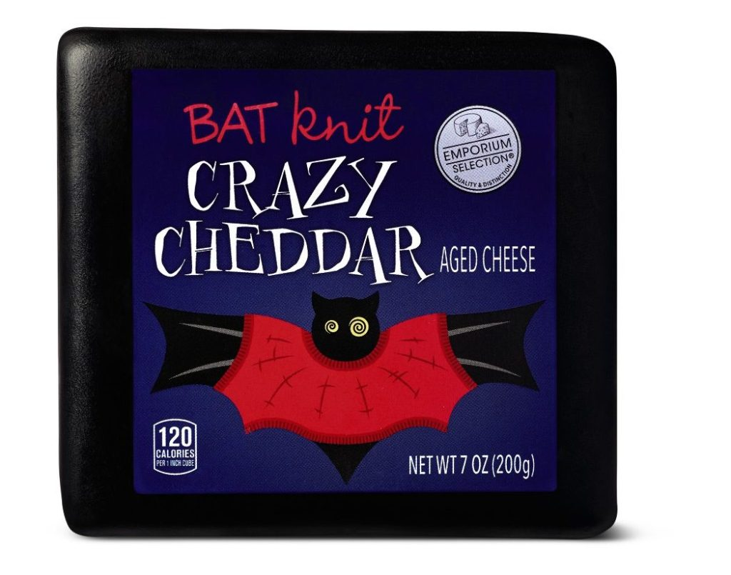 Emporium Selection Halloween Cheese Bat Crazy Cheddar