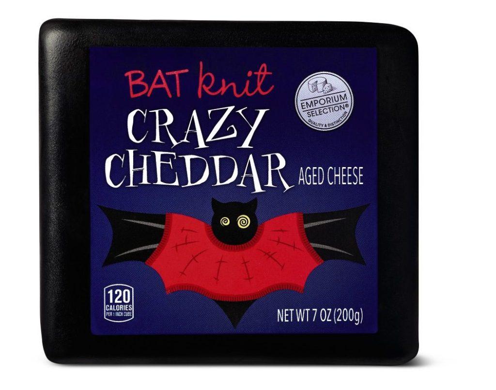 Emporium Selection Halloween Cheese Bat Crazy Cheddar