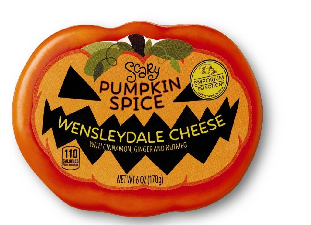 Emporium Selection Halloween Cheese Pumpkin Spice
