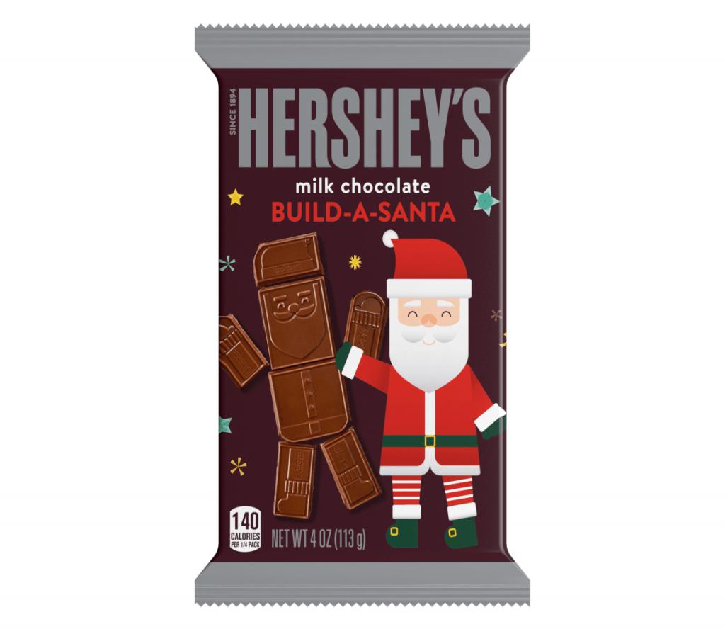 Hershey's Santa