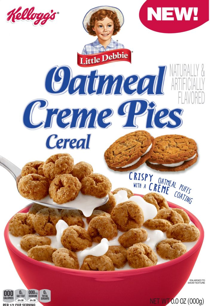 Kellogg's Little Debbie Oatmeal Creme Pies Cereal