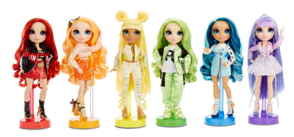 MGA Entertainment_Rainbow High Fashion Dolls