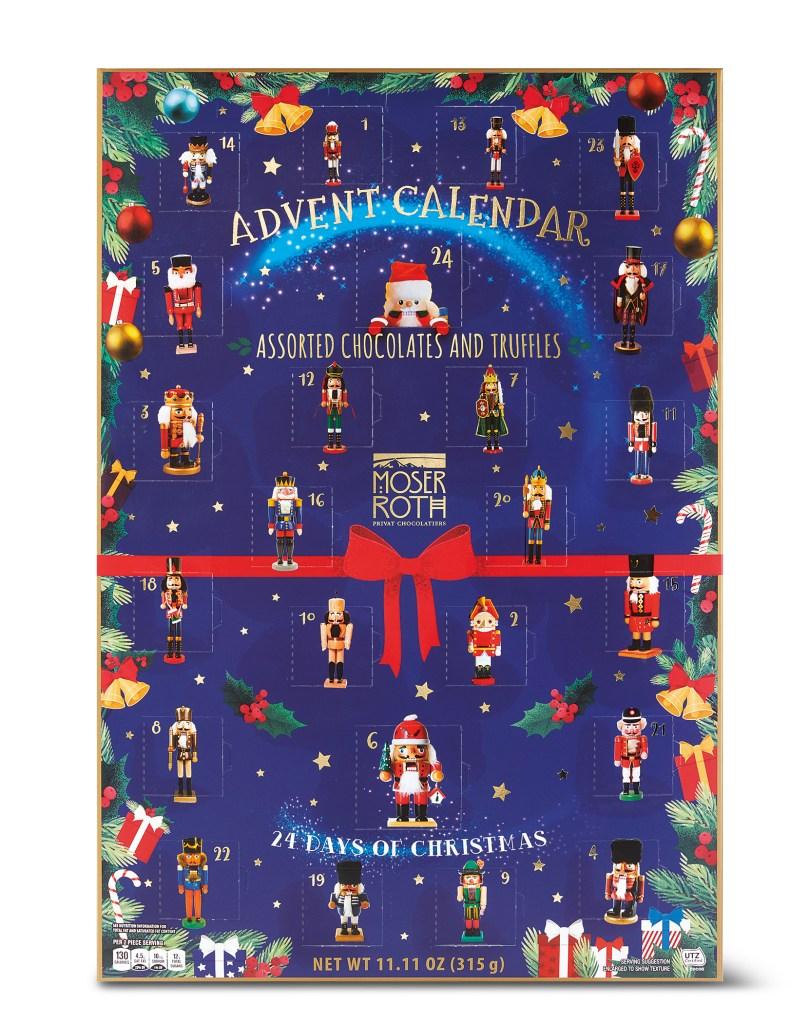 Moser Roth 24 Days Of Christmas Nutcracker Advent Calendar