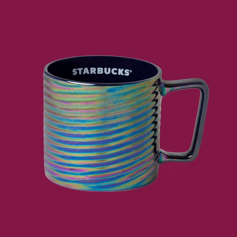 Starbucks Rainbow Luster Mug