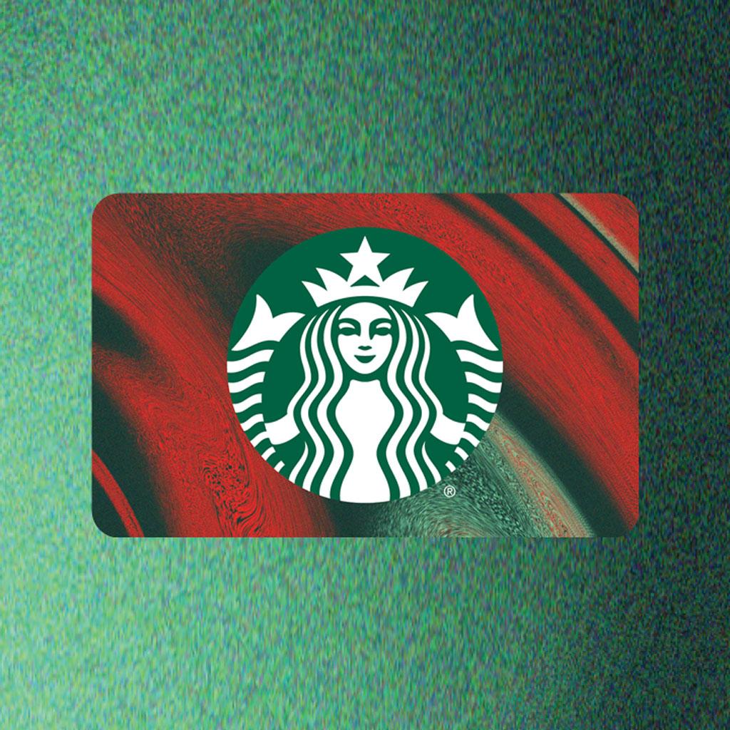 Starbucks Siren Holiday Gift Card