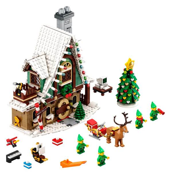 New LEGO Elf Club House Is Fit for the Holidays
