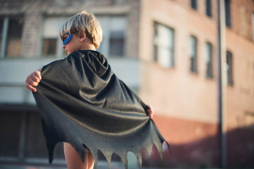 child cape
