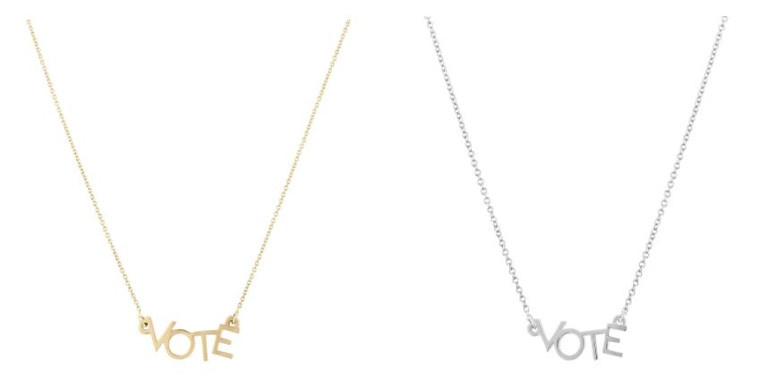 VOTE Necklace