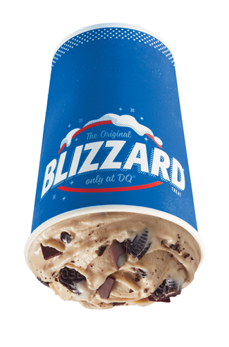 Oreo Fudge Mocha Blizzard