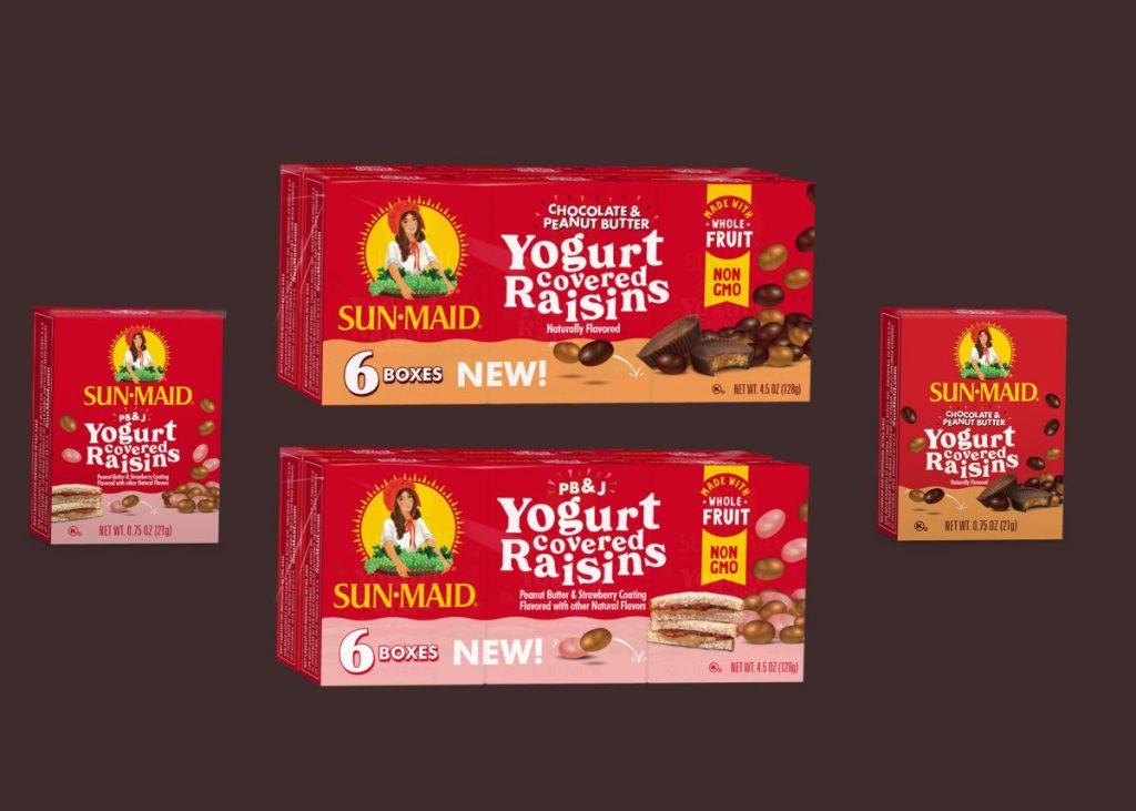 Peanut Butter Yogurt Raisins