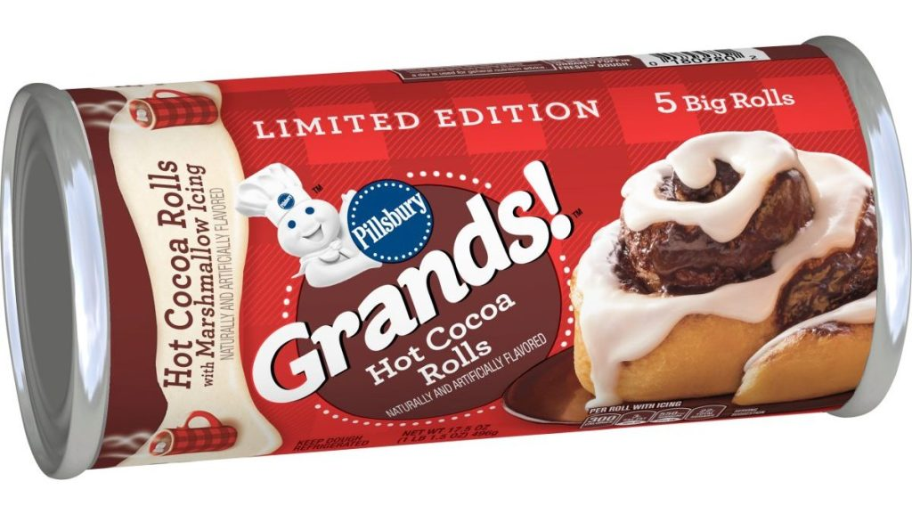 Pillsbury Grands! Hot Cocoa Rolls