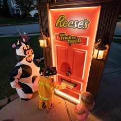 Reese's Halloween Door