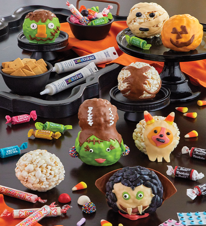 The Popcorn Factory Halloween Popcorn Ball Decorating Kit