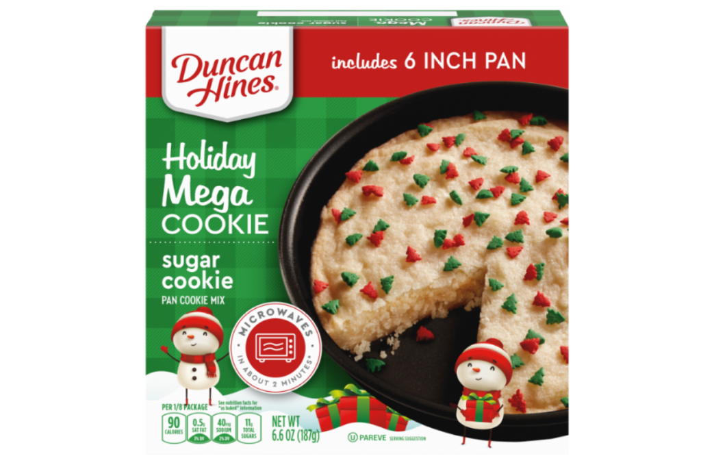 Duncan Hines Holiday Cookie