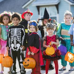 best places to go trick or treating