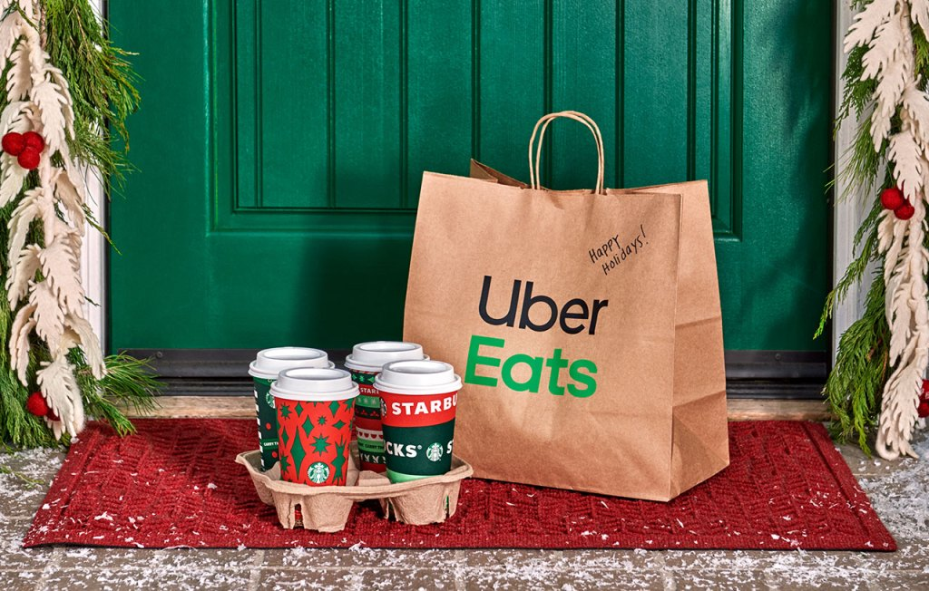 Starbucks Uber Eats