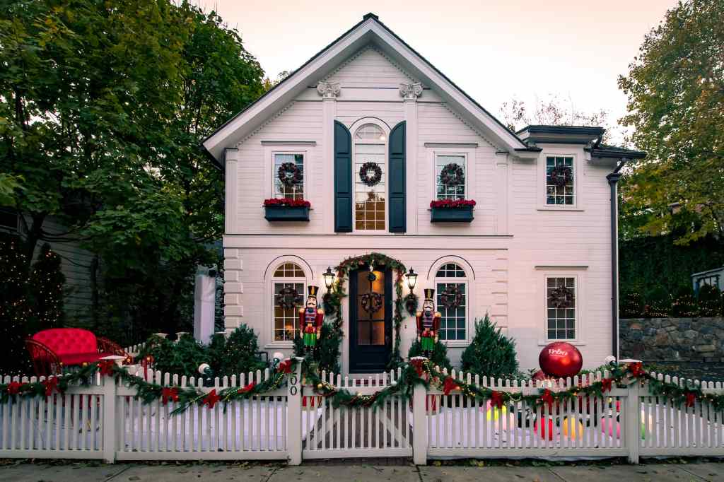 Here's Your Chance to Stay in a Lifetime Holiday Movie House