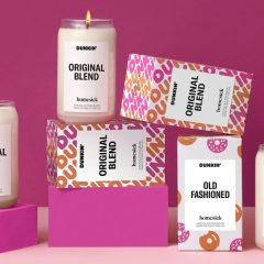 Dunkin' X Homesick Candles