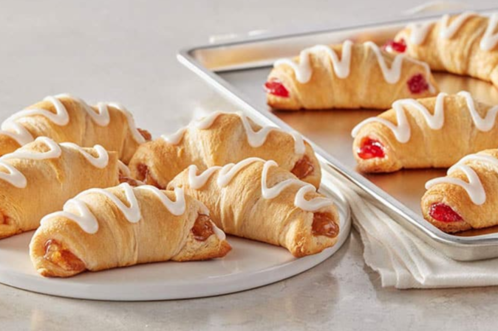 Filled crescents
