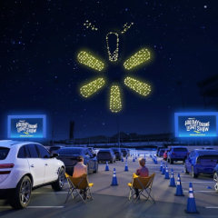 Walmart Holiday Drone