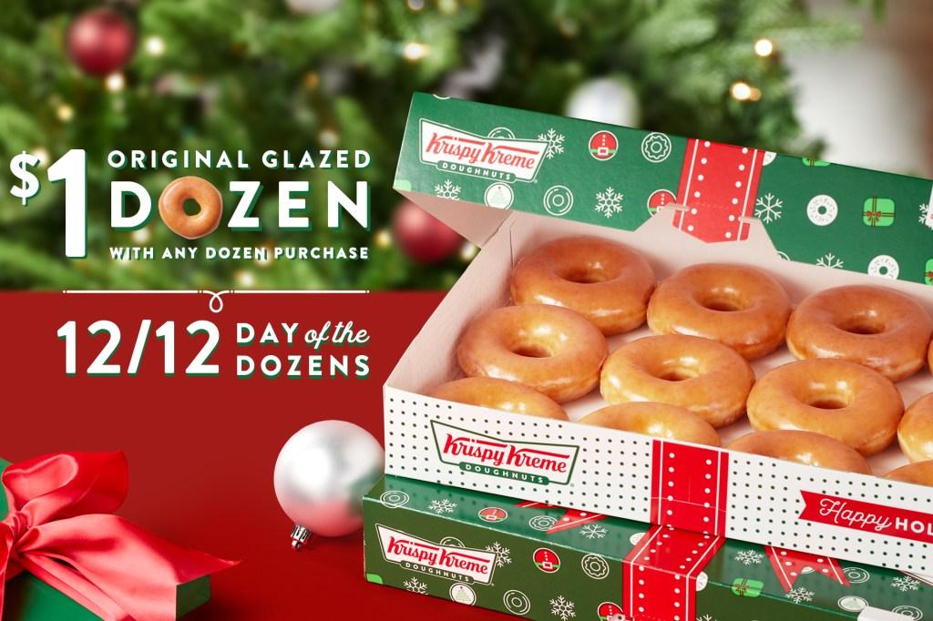 Krispy Kreme Day of Dozens