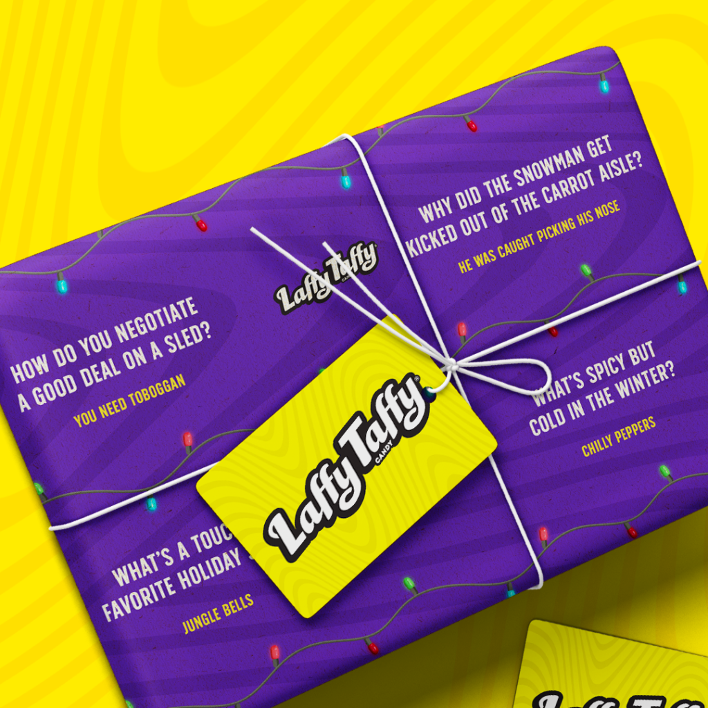 Laffy Taffy Wrapping Paper