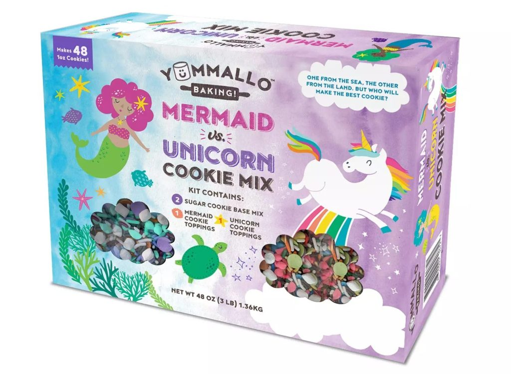 Yummallo Unicorn vs. Mermaid Sugar Cookie Mix