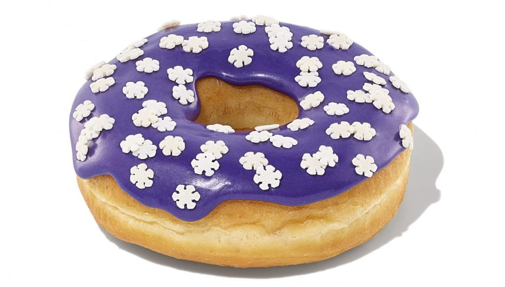 Snowflake Donut