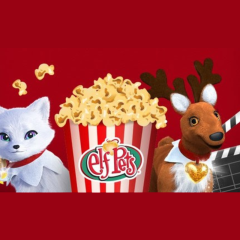 Elf Pets' Merry Movie Night