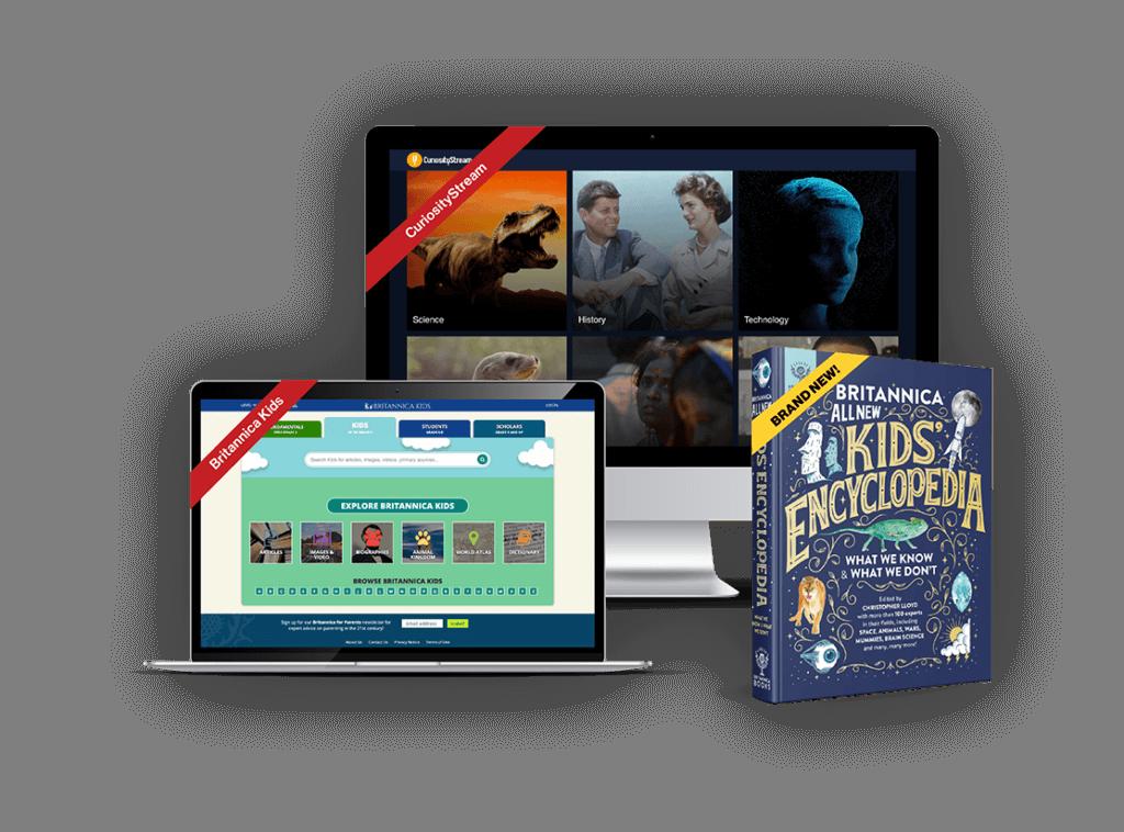 The Britannica Kids Holiday Bundle