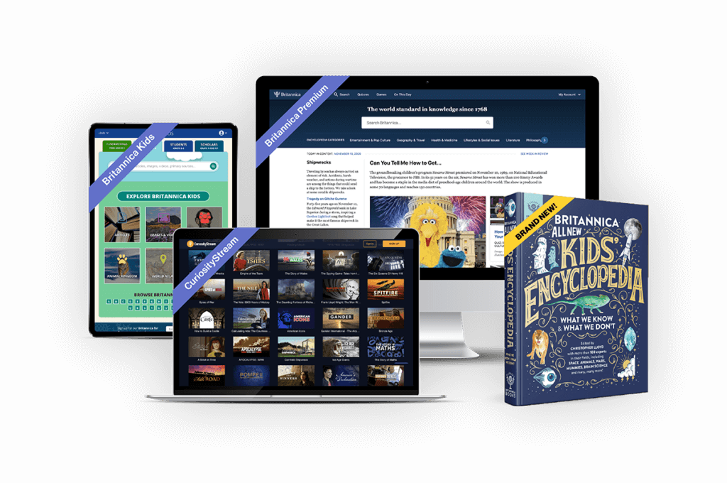 The Britannica Family Holiday Bundle