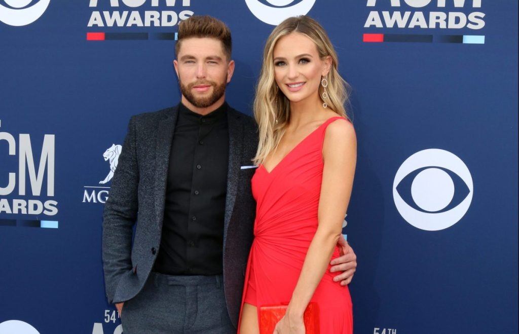 Lauren Bushnell and Chris Lane