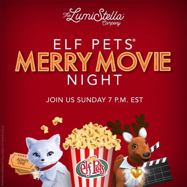Elf Pets' Merry Movie Night