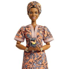 The Maya Angelou doll