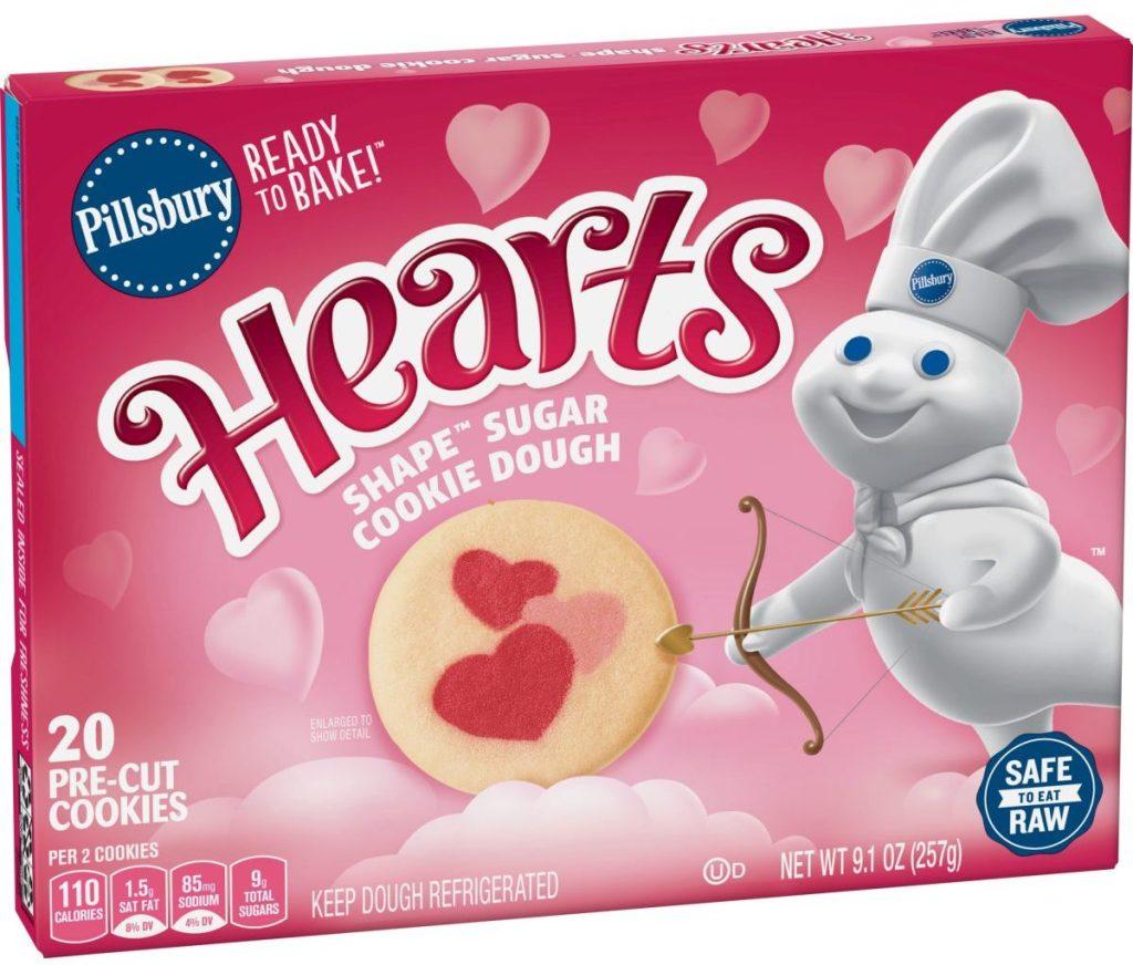 Heart Shape Sugar Cookie Dough
