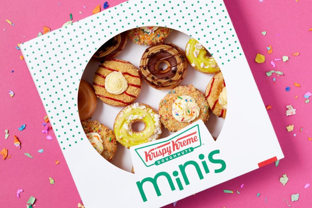 Krispy Kreme's Mini Dessert Donuts