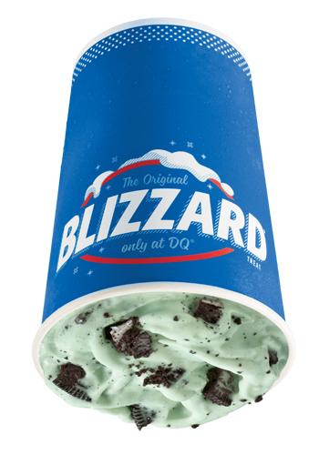 Menta OREO Blizzard