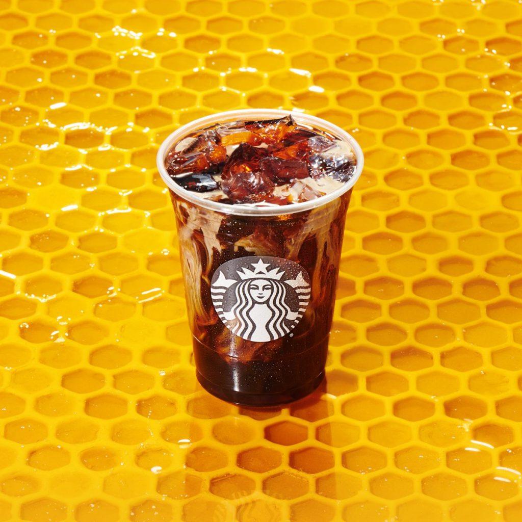 honey almondmilk cold brew