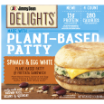 Jimmy Dean Delights Plant Based Patty and Frittata Sandwich