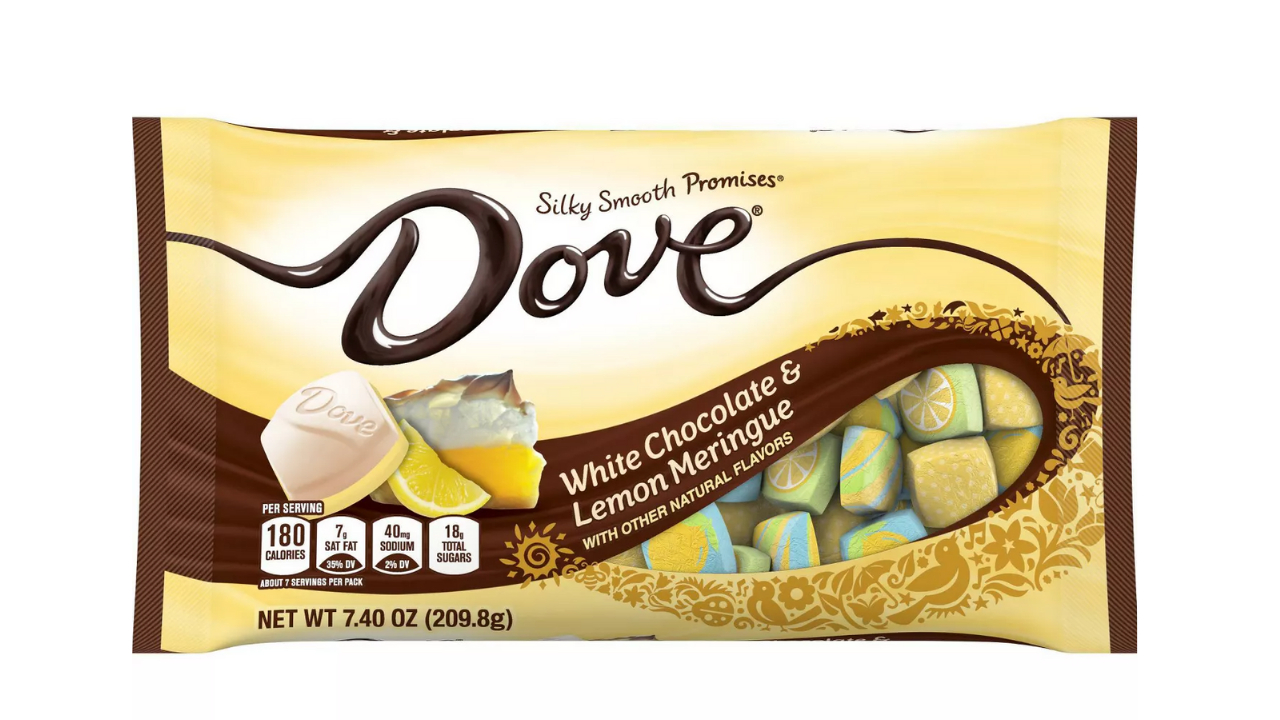 Spring Is in the Air with Dove's New Citrus-Fused Chocolates