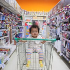 baby shopping cart