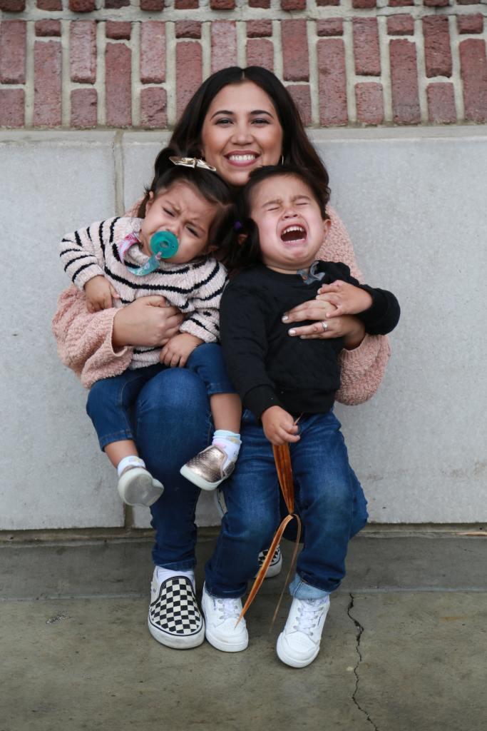 mom kids tantrum