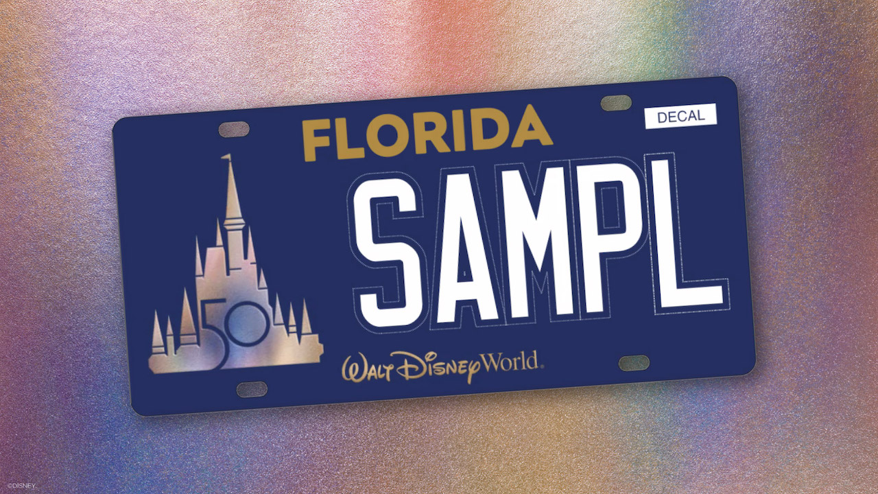 You Can Help Make a Child's Dream Come True with Disney's New License Plates