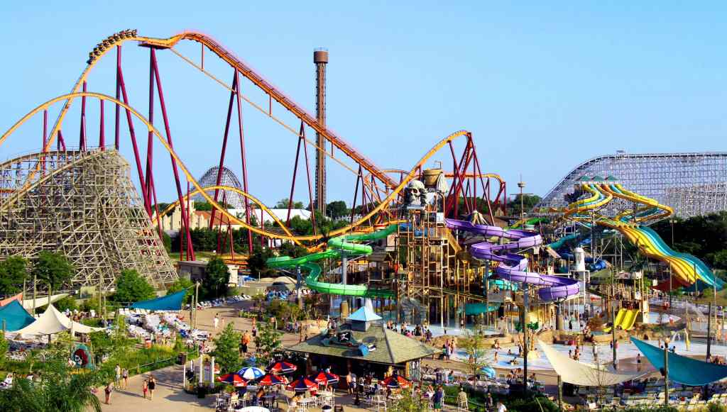 These Are All the Six Flags Parks You Can Visit This Summer